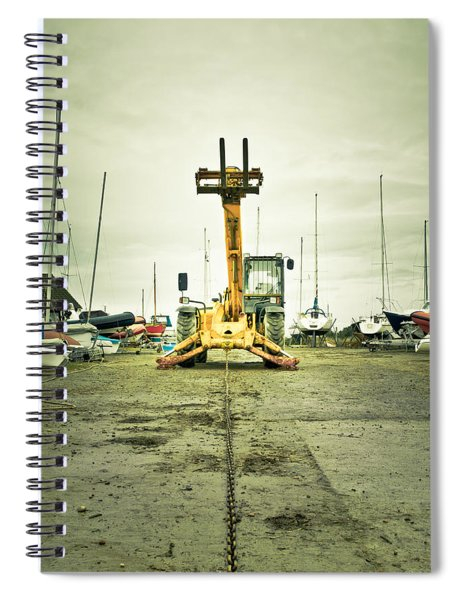 Boat Winch Spiral Notebook