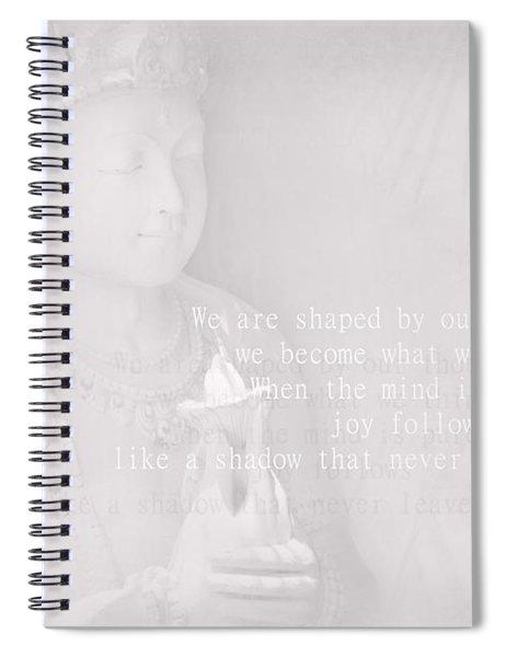 Bodhisattva Spiral Notebook