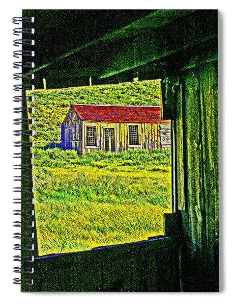 Bodie Ca From My Window Spiral Notebook