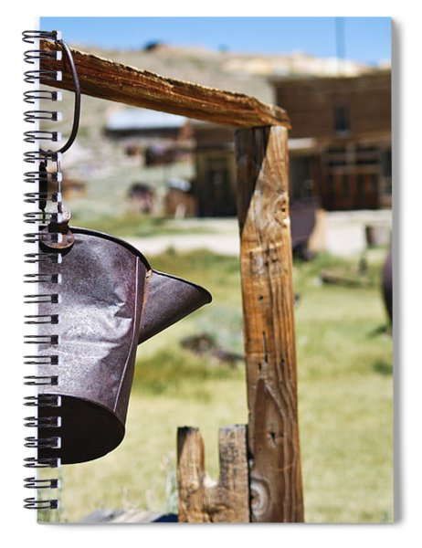 Bodie Ghost Town 2 - Old West Spiral Notebook