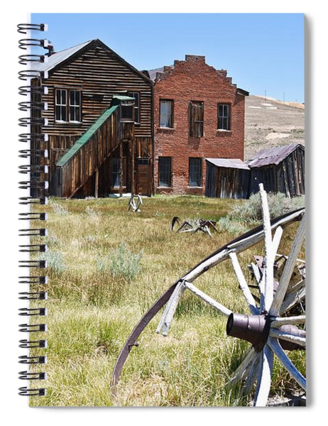Bodie Ghost Town 3 - Old West Spiral Notebook