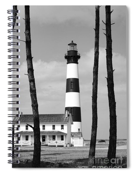 Bodie Island Lighthouse In The Outer Banks Spiral Notebook