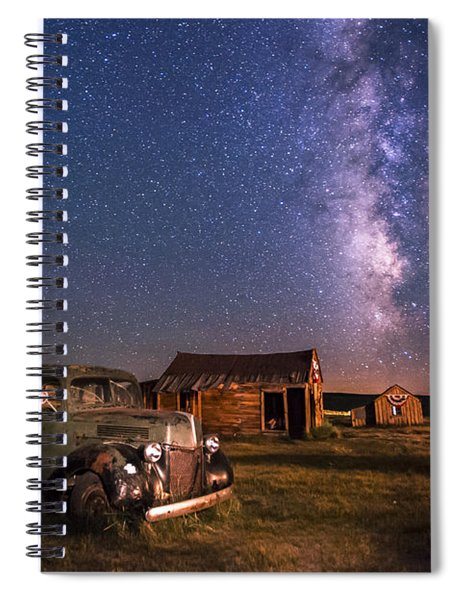 Bodie Nights Spiral Notebook