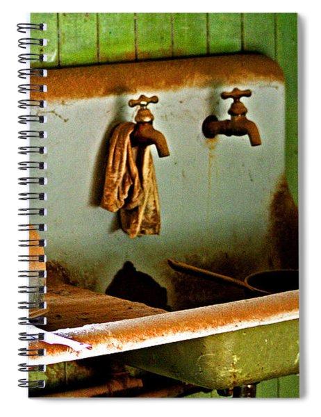 Bodie Water Fixtures Spiral Notebook