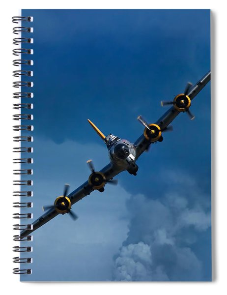 Boeing B-17 Flying Fortress Spiral Notebook