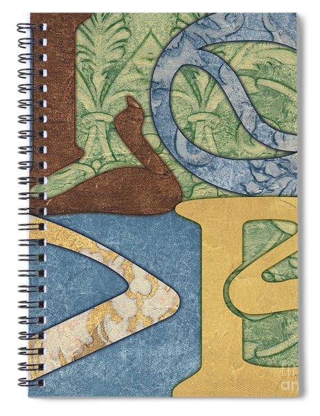 Bohemian Love Spiral Notebook