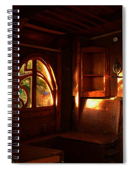 Bohemian Still Life Spiral Notebook