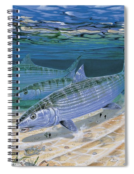 Bonefish Flats In002 Spiral Notebook