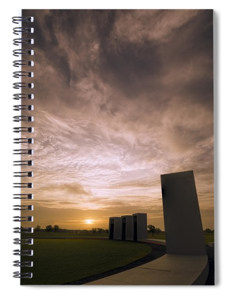 Bonfire Memorial Spiral Notebook