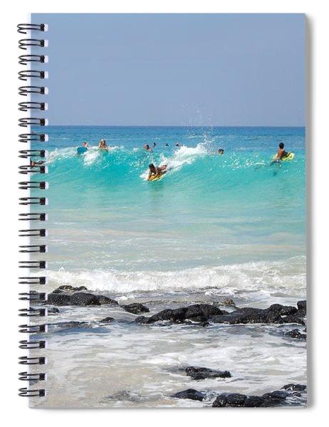Boogie Up Spiral Notebook