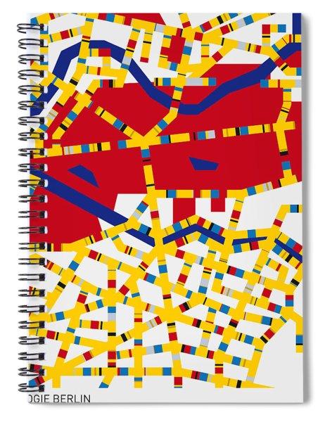 Boogie Woogie Berlin Spiral Notebook