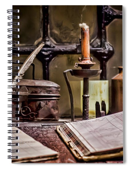 Book Keeper Spiral Notebook