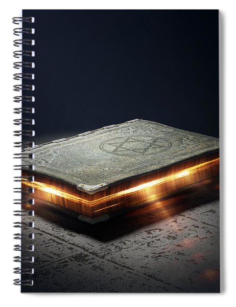Book With Magic Powers Spiral Notebook