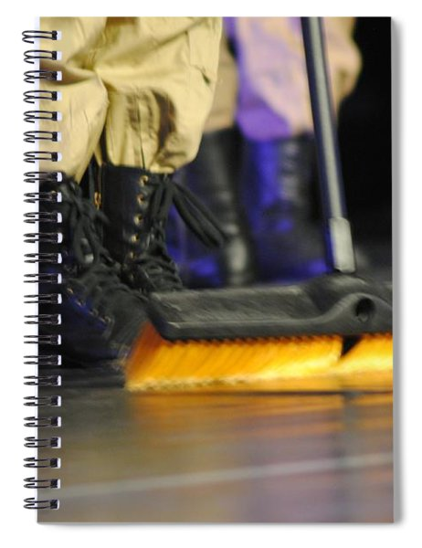 Boots And Brooms Spiral Notebook