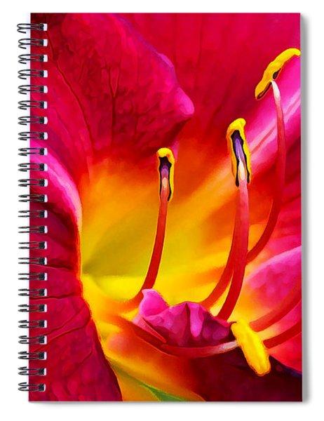 Boothbay Burgundy Spiral Notebook
