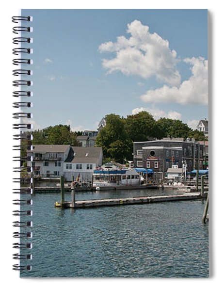 Boothbay Harbor 1242 Spiral Notebook