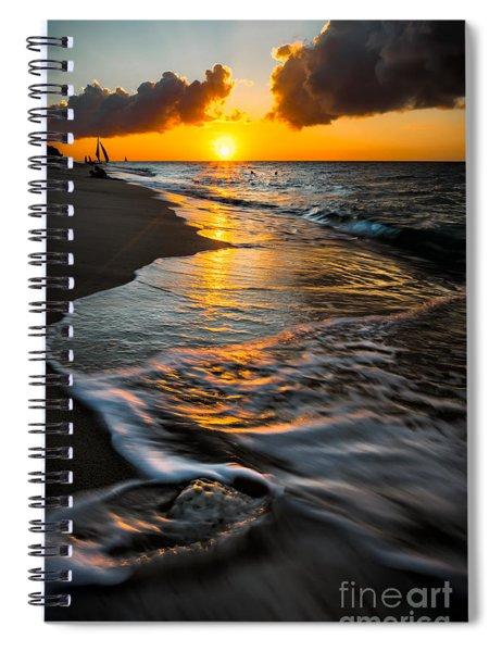 Boracay Sunset Spiral Notebook