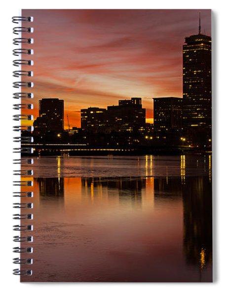 Boston Dawn Spiral Notebook