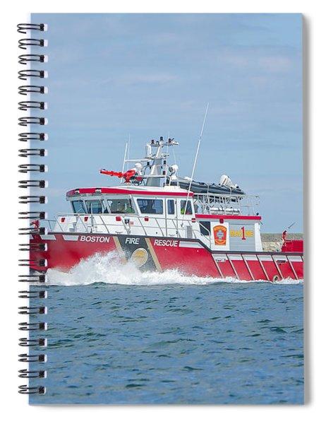 Boston Fire Marine 1 Spiral Notebook
