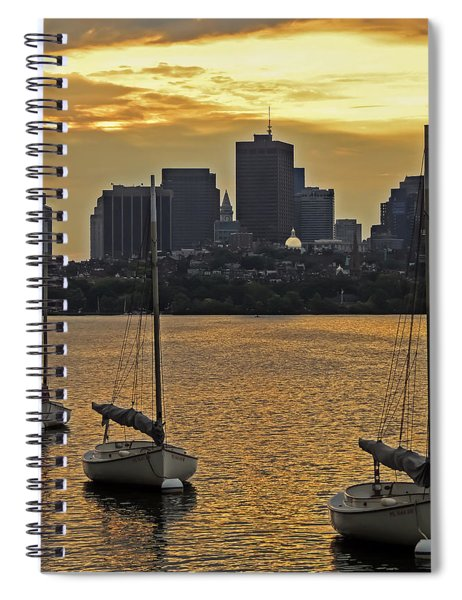 Boston Sunrise Spiral Notebook