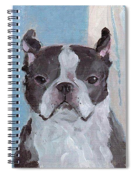 Boston Terrier Spiral Notebook