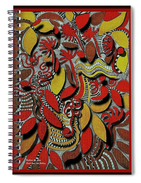 Boston's Fallen Leaves Spiral Notebook