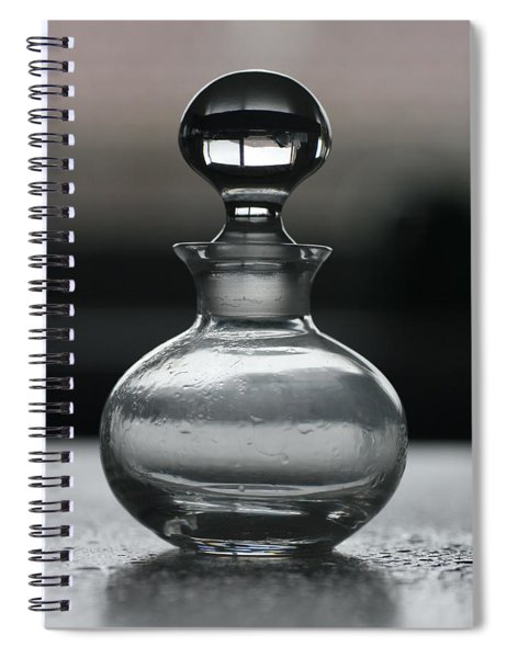 Bottle Spiral Notebook