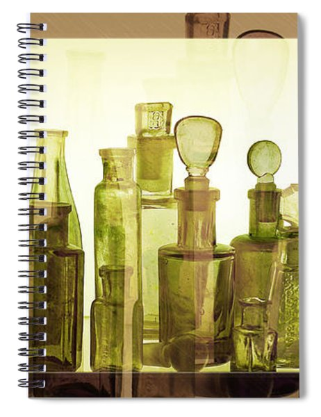 Bottled Light Spiral Notebook
