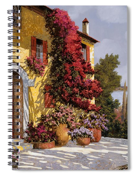 Bouganville Spiral Notebook