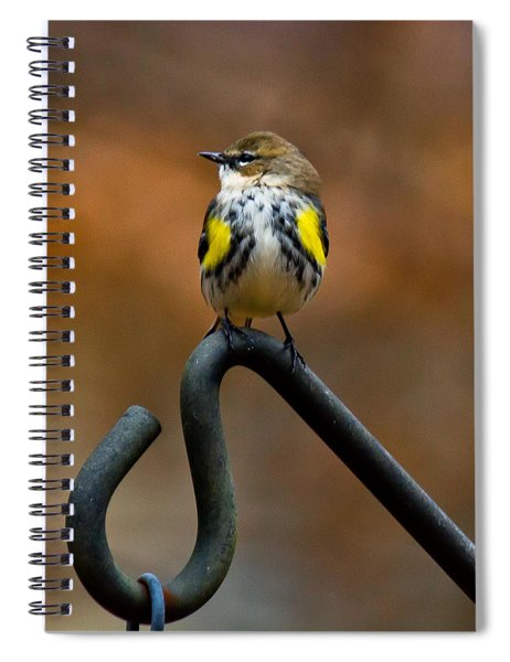 Spiral Notebook featuring the photograph Bought A New Vest Today by Robert L Jackson