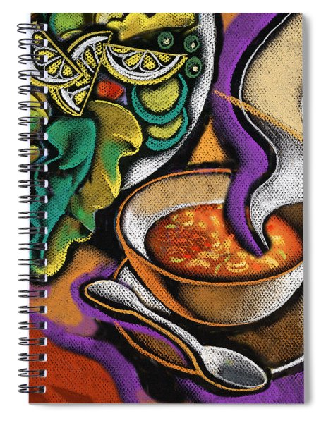 Bowl Of Soup Spiral Notebook