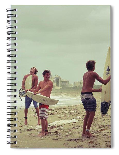 Boys Of Summer Spiral Notebook