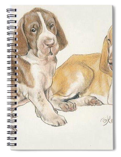Bracco Italiano Puppies Spiral Notebook