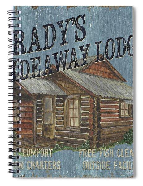Brady's Hideaway Spiral Notebook