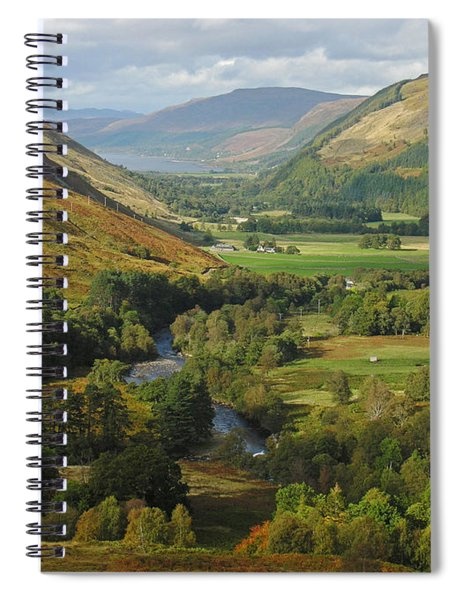 Braemore In Early Autumn Spiral Notebook