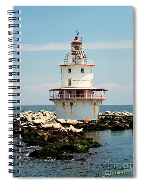 Brandywine Shoal  Lighthouse Spiral Notebook