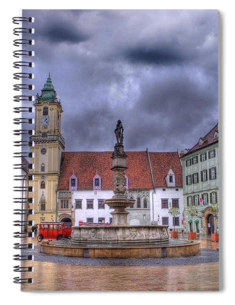 Bratislava Old Town Hall Spiral Notebook