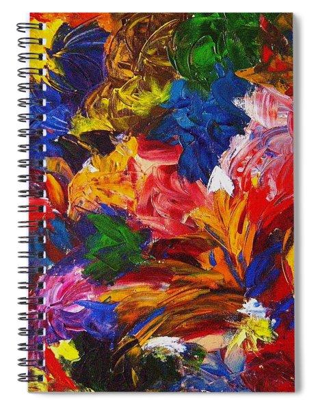 Brazilian Carnival Spiral Notebook