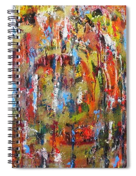 Break Through Barriers Spiral Notebook