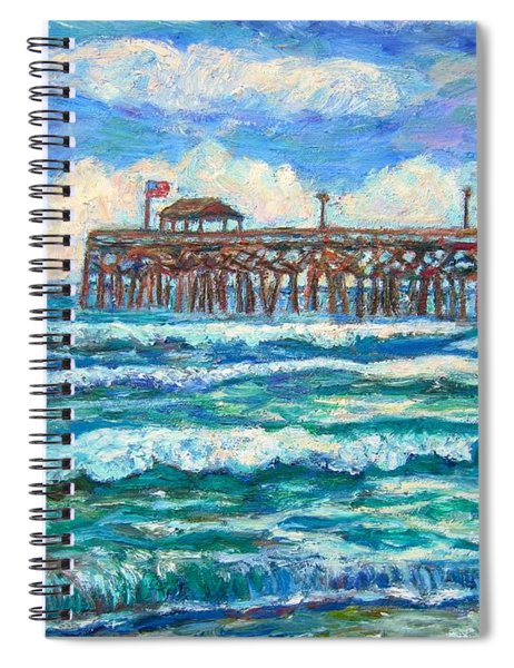 Breakers At Pawleys Island Spiral Notebook