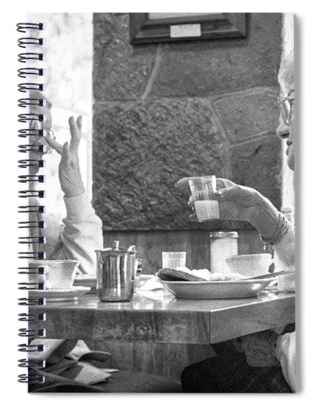 Breakfast Ladies Spiral Notebook