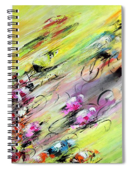 Breaking Away Spiral Notebook