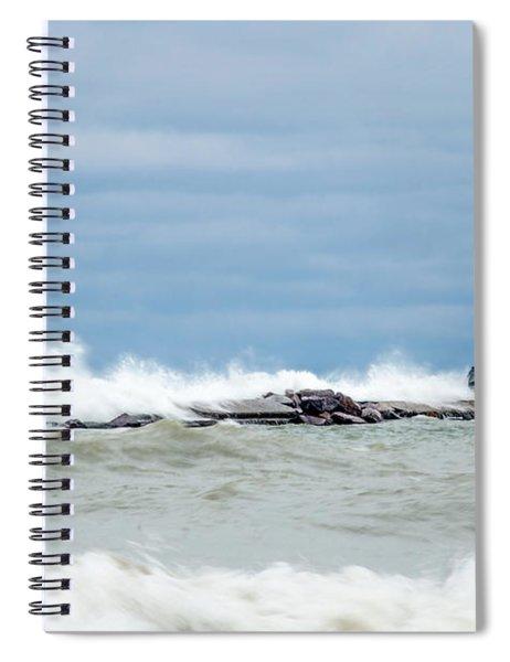 Breaking Spiral Notebook