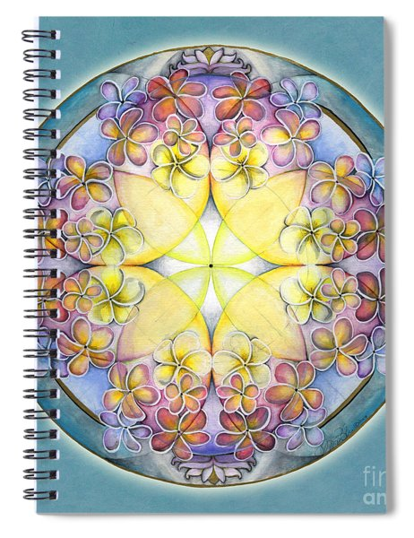 Breath Of Life Mandala Spiral Notebook