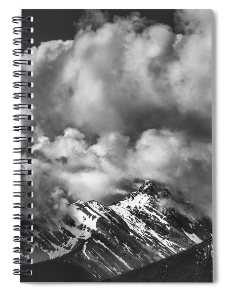 Breathe Out Spiral Notebook