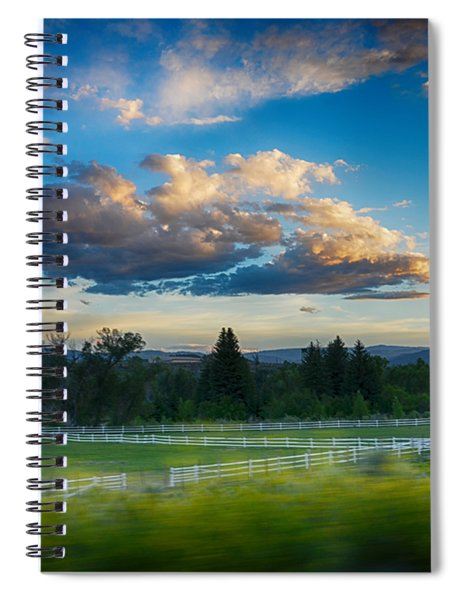 Breathtaking Colorado Sunset 1 Spiral Notebook