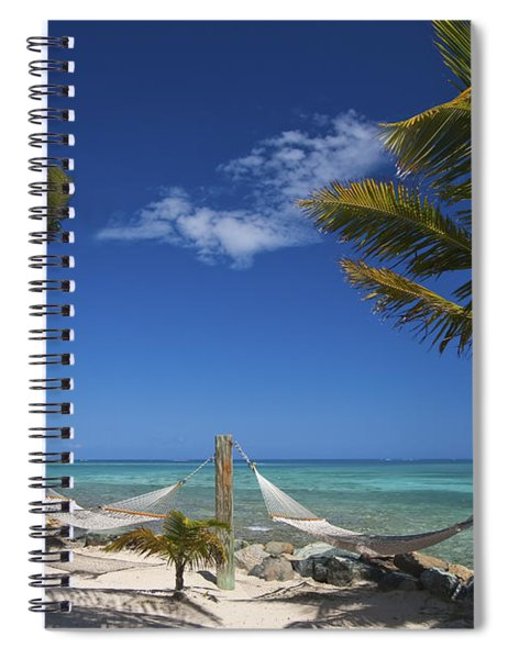 Breezy Island Life Spiral Notebook
