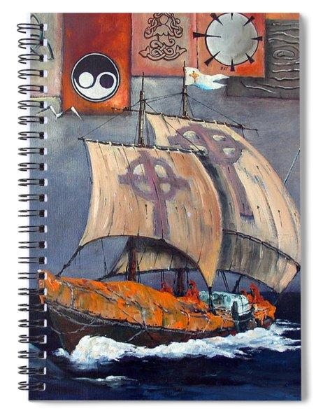 Brendan Voyage Spiral Notebook
