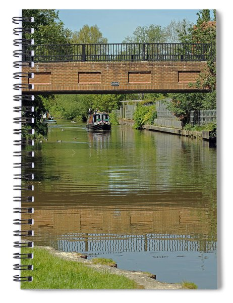 Bridge 238b Oxford Canal Spiral Notebook