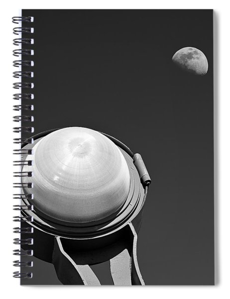 Bridge Light Spiral Notebook
